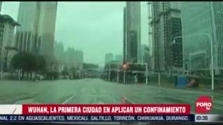 wuhan la primera ciudad en aplicar un confinamiento por covid