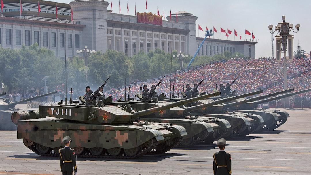 Ejército China Listo Guerra Cualquier Momento