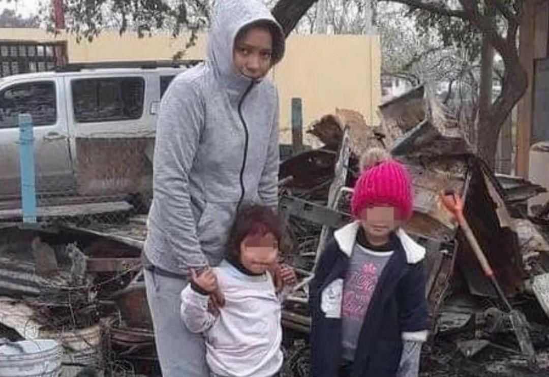 Familia de Matamoros pierde su casa en un incendio producido por una vela