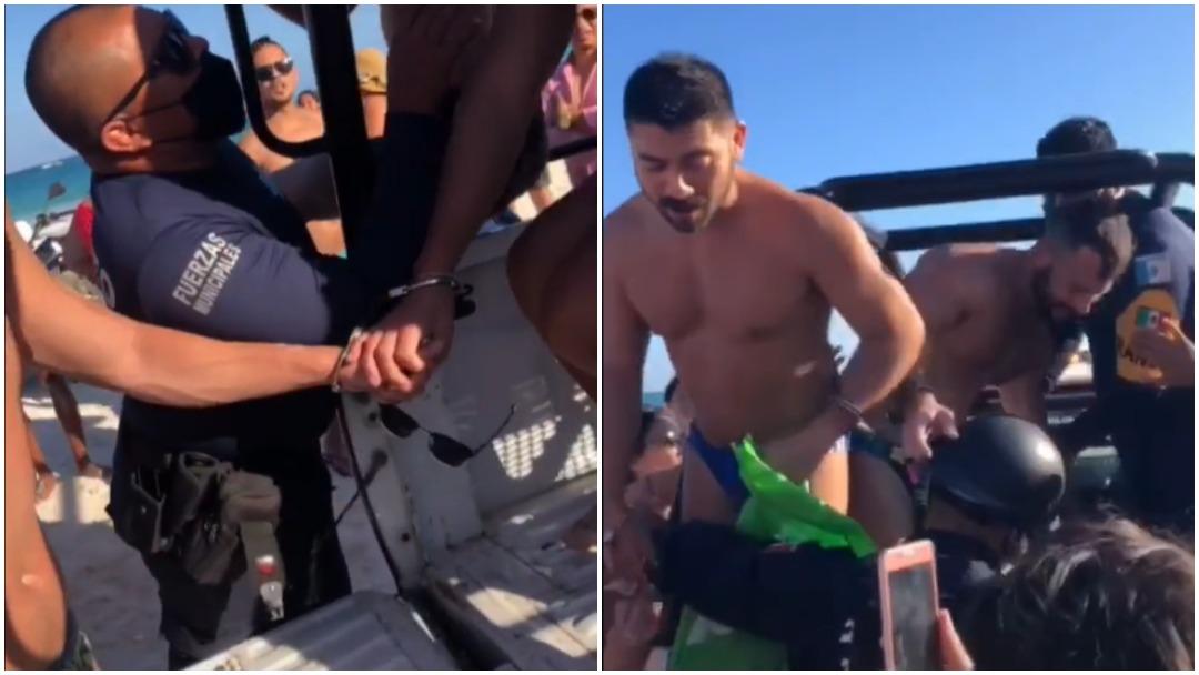 Acusan a policía de Quintana Roo de intentar detener a hombres gays por besarse en la playa