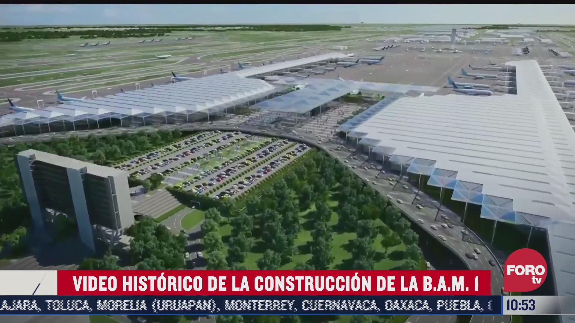 asi fue la construccion de la base aerea militar 1 de santa lucia
