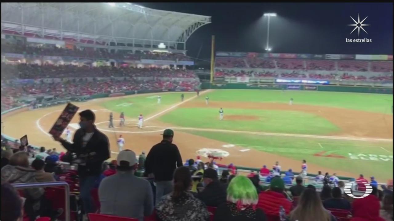 asi luce el estadio en mazatlan donde se disputa serie de caribe
