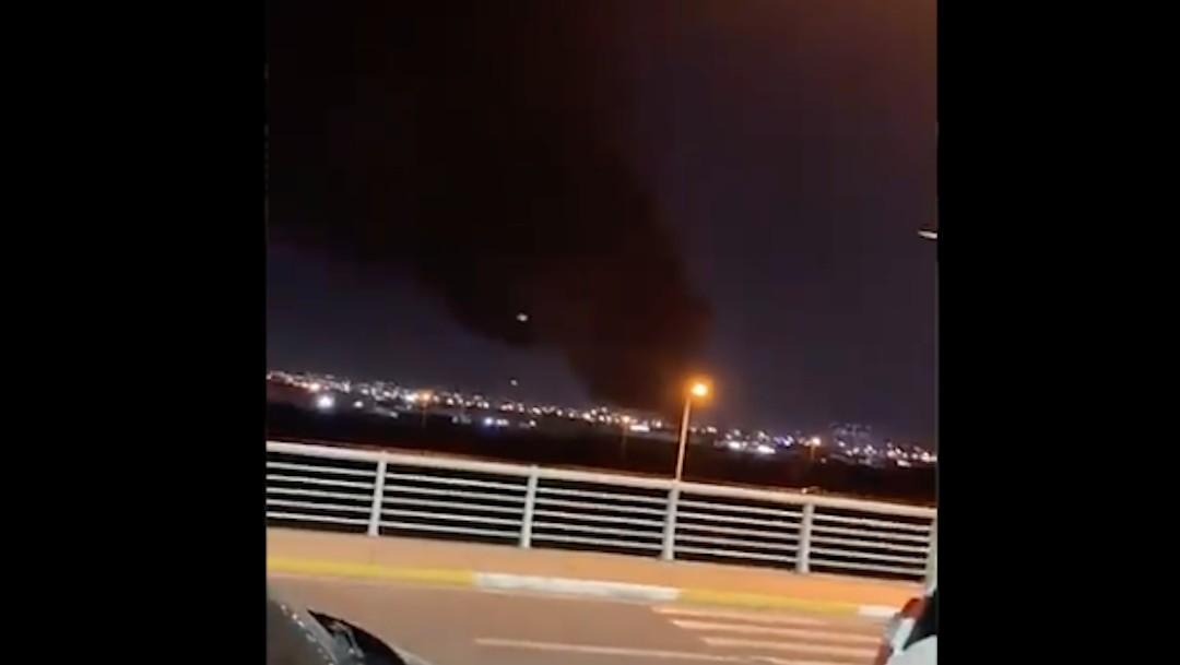 Inmediaciones del aeropuerto de Erbil, en el norte de Irak, (Twitter @AuroraIntel)