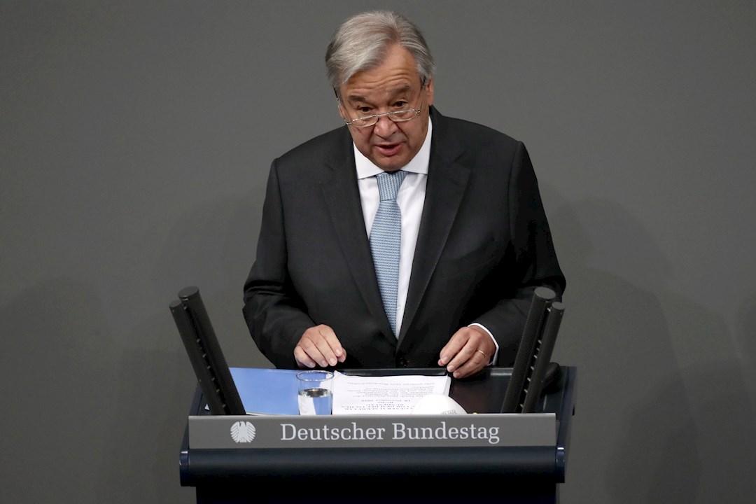 ONU critica distribución de vacuna y pide plan mundial