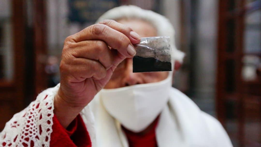 Comenzó entrega de ceniza en iglesias de la Ciudad de México. (Foto: Cuartoscuro).