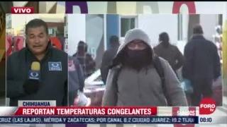 continuara el frio y los fuertes vientos en el noroeste de mexico