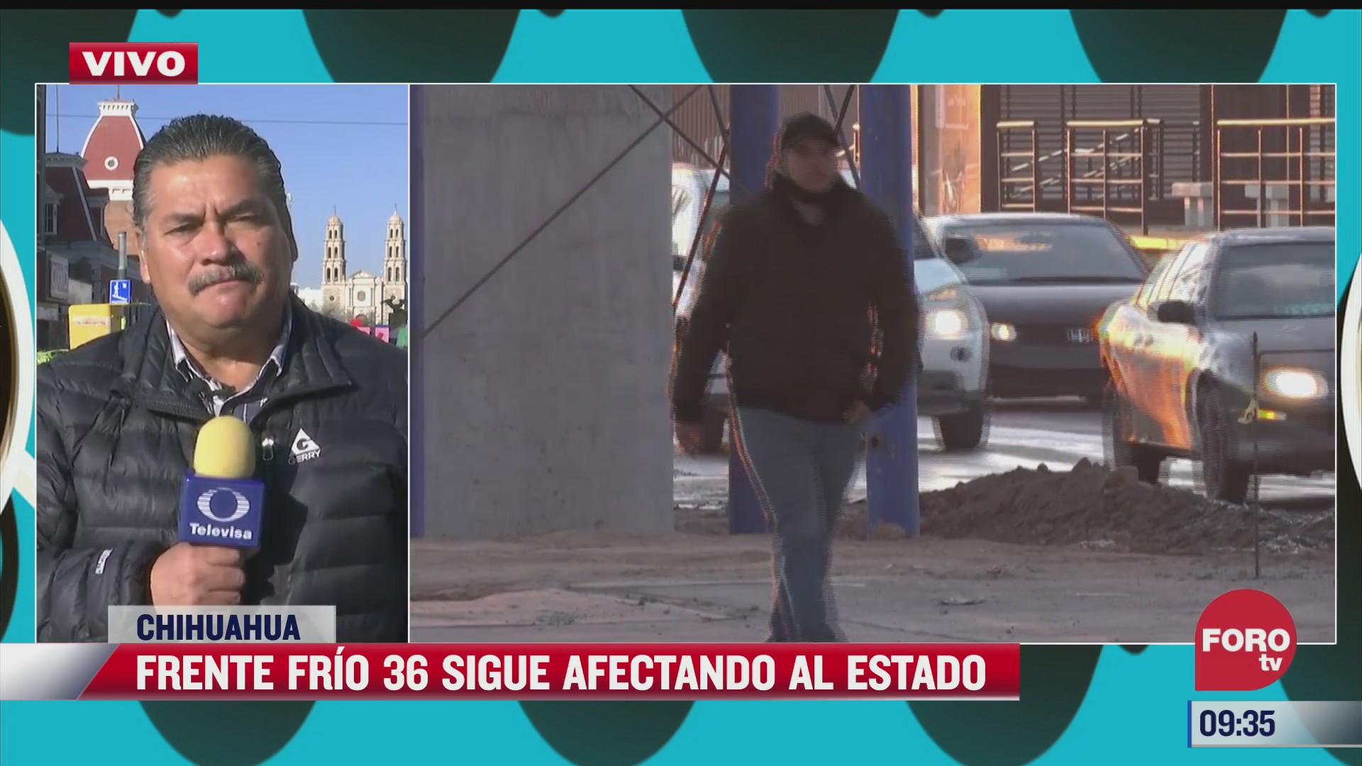 continuaran bajas temperaturas en ciudad juarez chihuahua