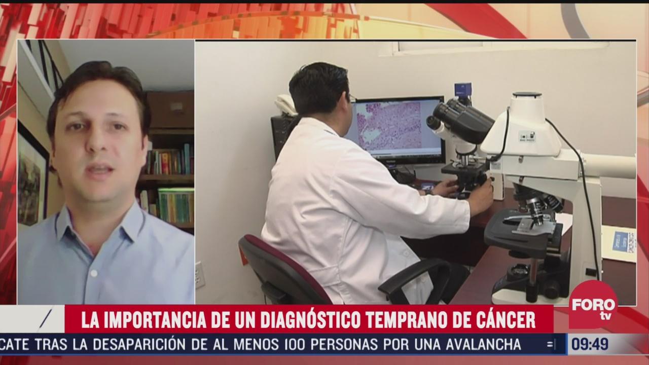 cual es la importancia de un diagnostico temprano de cancer