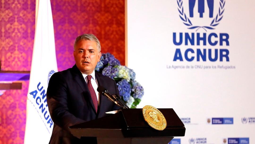 El presidente de Colombia, Iván Duque (EFE)