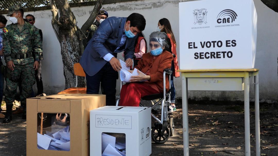 Ecuatorianos votan por presidente en medio de una pandemia de coronavirus (Getty Images, archivo)