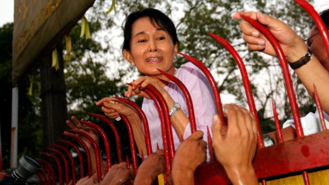 El Ejército birmano presenta cargos contra Aung San Suu Kyi