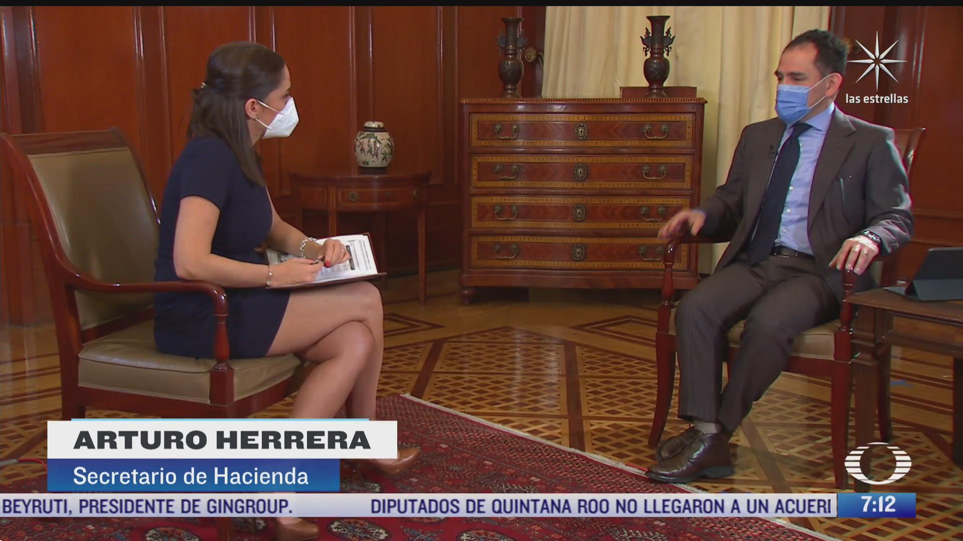 entrevista exclusiva a arturo herrera secretario de hacienda para despierta