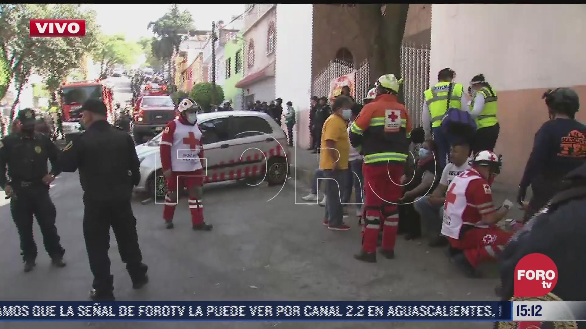 explosion por acumulacion de gas en la alcaldia alvaro obregon