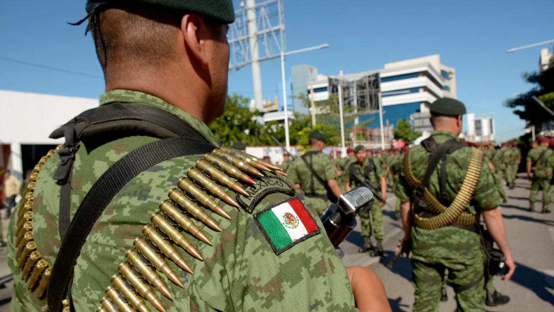 Elementos de las fuerzas armadas desfilaran por la principal avenida de Culiacán