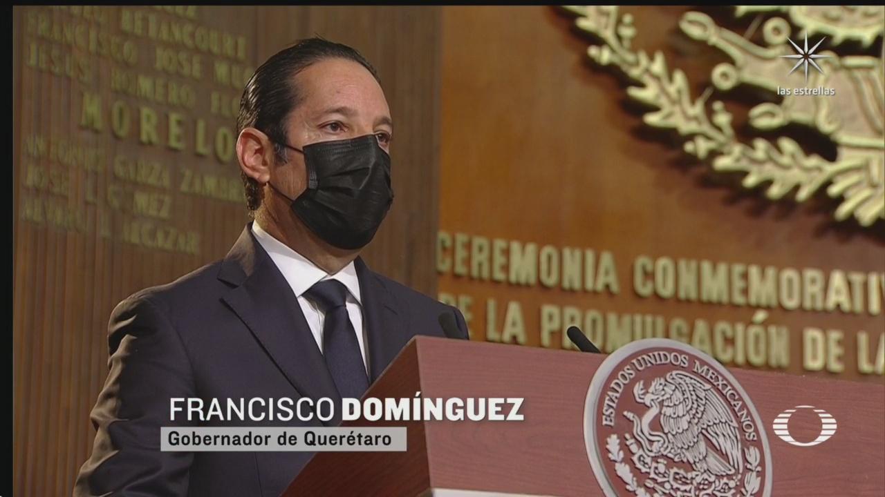 gobernador de queretaro llama a un acuerdo nacional ante pandemia