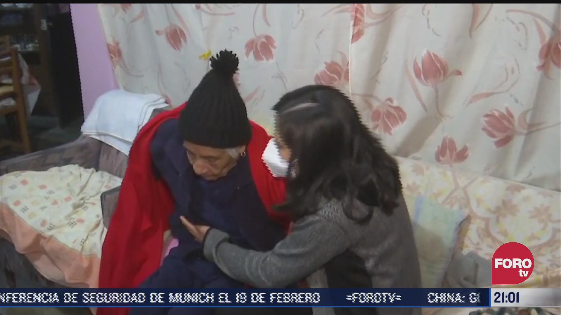 la senora lorenza se resguarda en su casa en espera de que se haga justicia