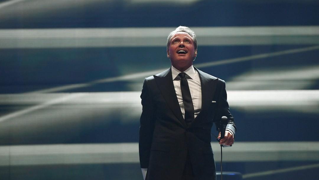 El cantante Luis Miguel durante una presentación (Getty Images, archivo)