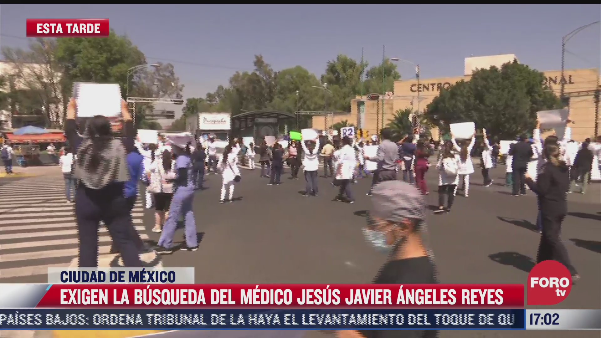 medicos exigen la busqueda del doctor jesus javier angeles