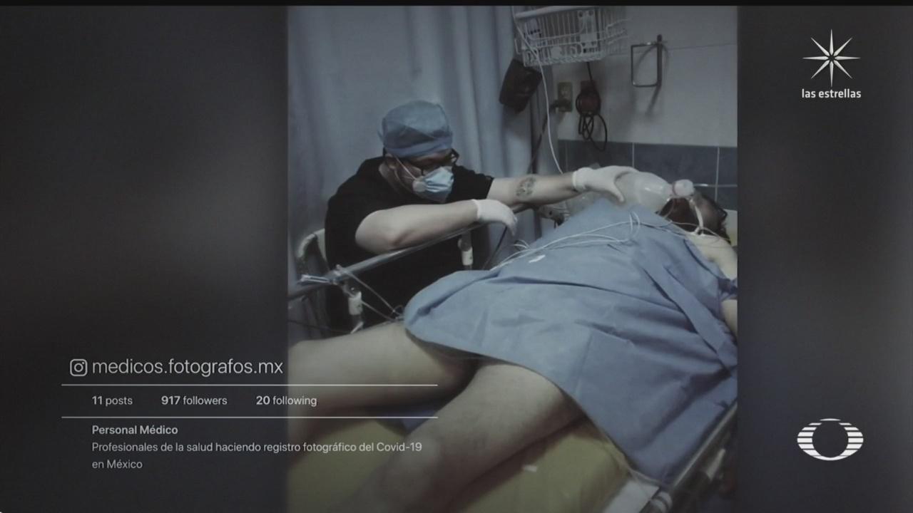 """""""Desde Dentro"""", proyecto que muestra con fotografías la tragedia de hospitales COVID-19 de CDMX"""