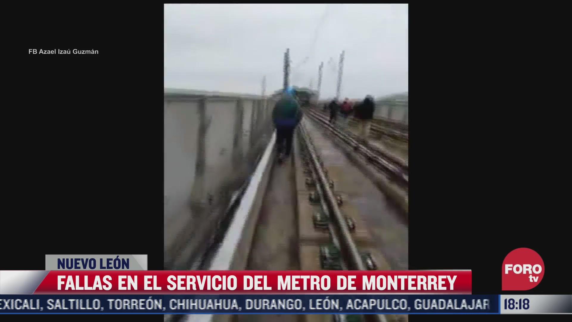 mega apagon afecta a usuarios del metro en monterrey nl