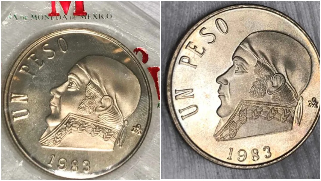Moneda de un peso de Morelos alcanza precio de casi 10 mil pesos en venta por internet