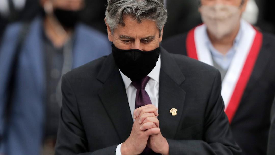 Francisco Sagasti, presidente interino de Perú (Getty Images)