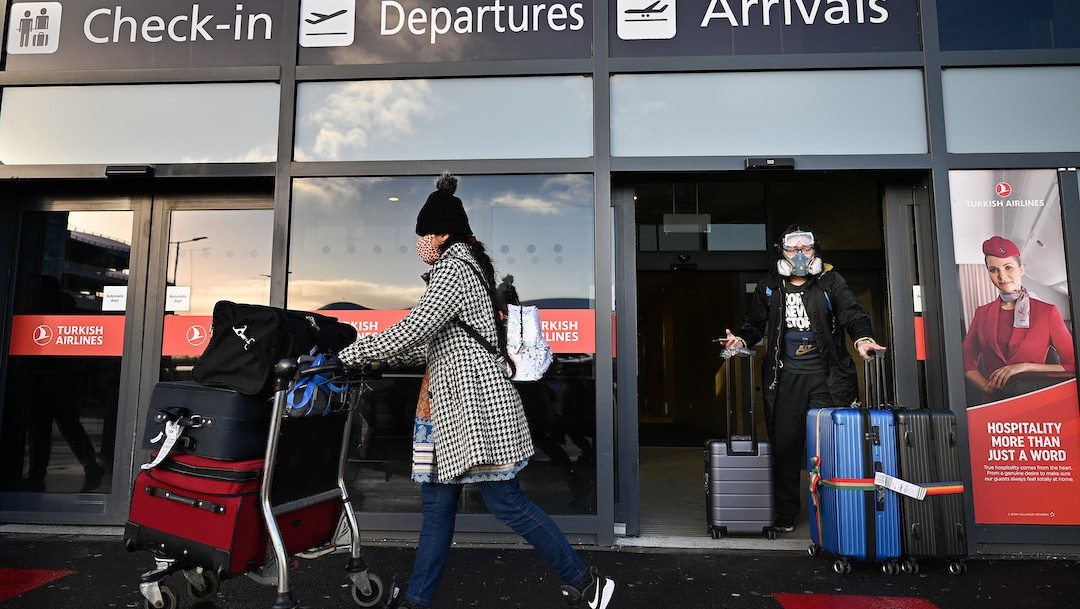 Un turista llega a Reino Unido (Getty Images)