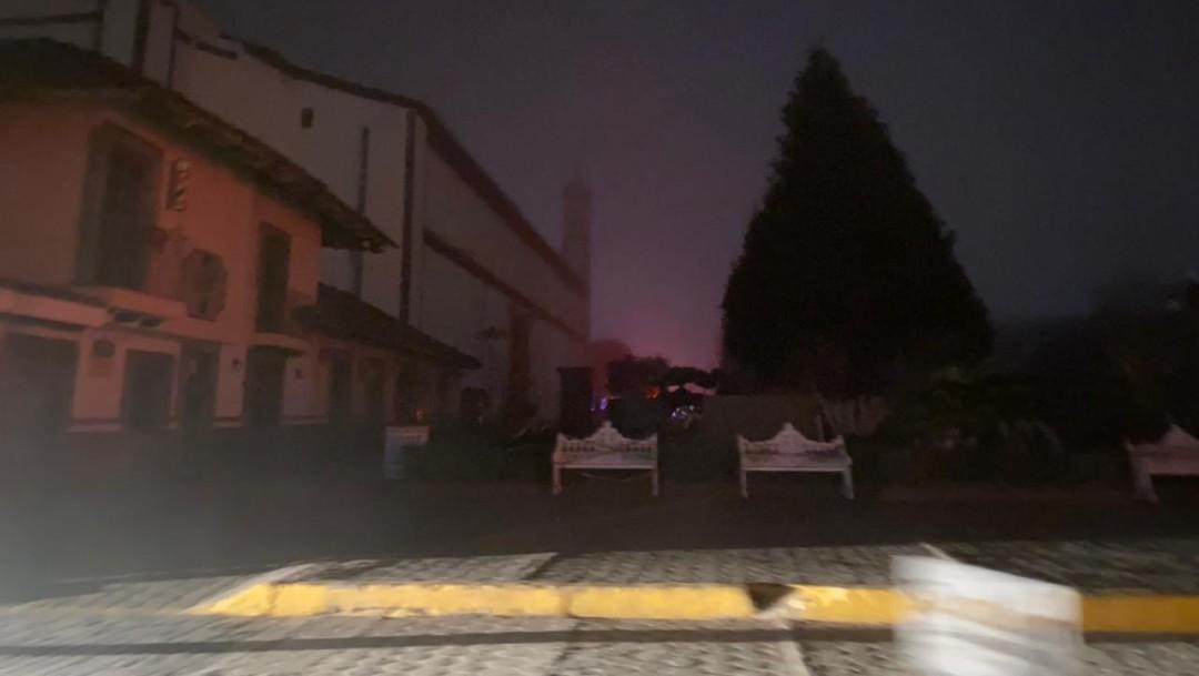Reportan apagones en Edomex, Puebla, Tlaxcala, Hidalgo y Morelos