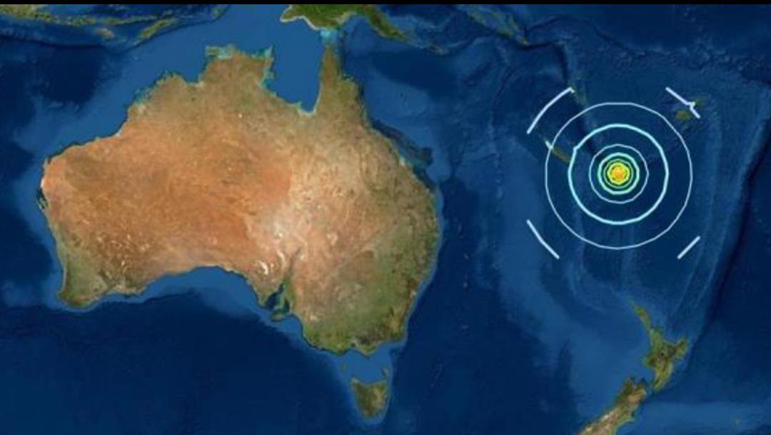 Sismo de magnitud 7.7 en el Pacífico Sur