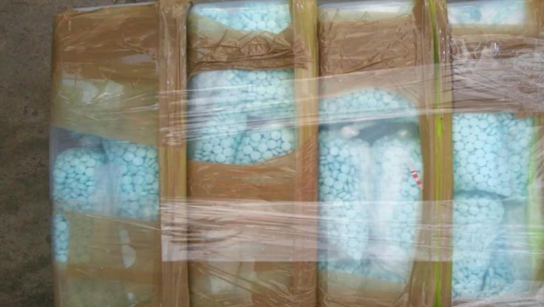 Traficantes de drogas mexicanos transportaban cargamento valuado en 90 millones de dólares (Twitter: @DEANEWYORKDiv)