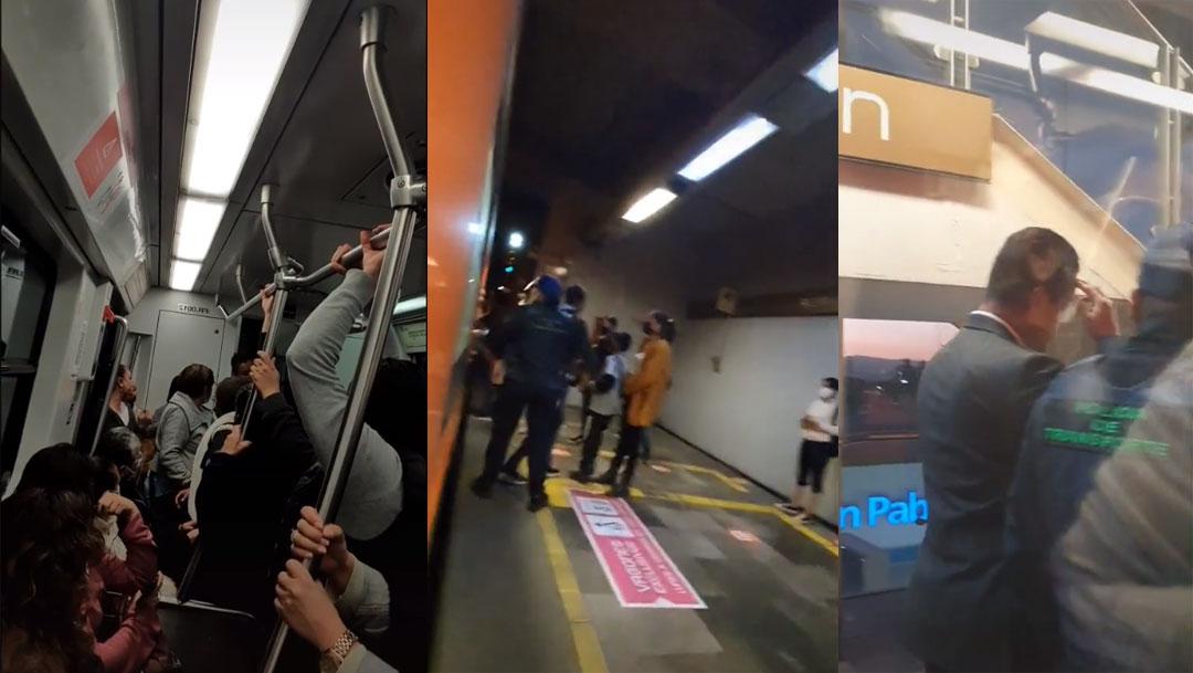 Un video de TikTok muestra a las usuarias increpando a chofer del Metro de la CDMX por tener relaciones sexuales en la cabina