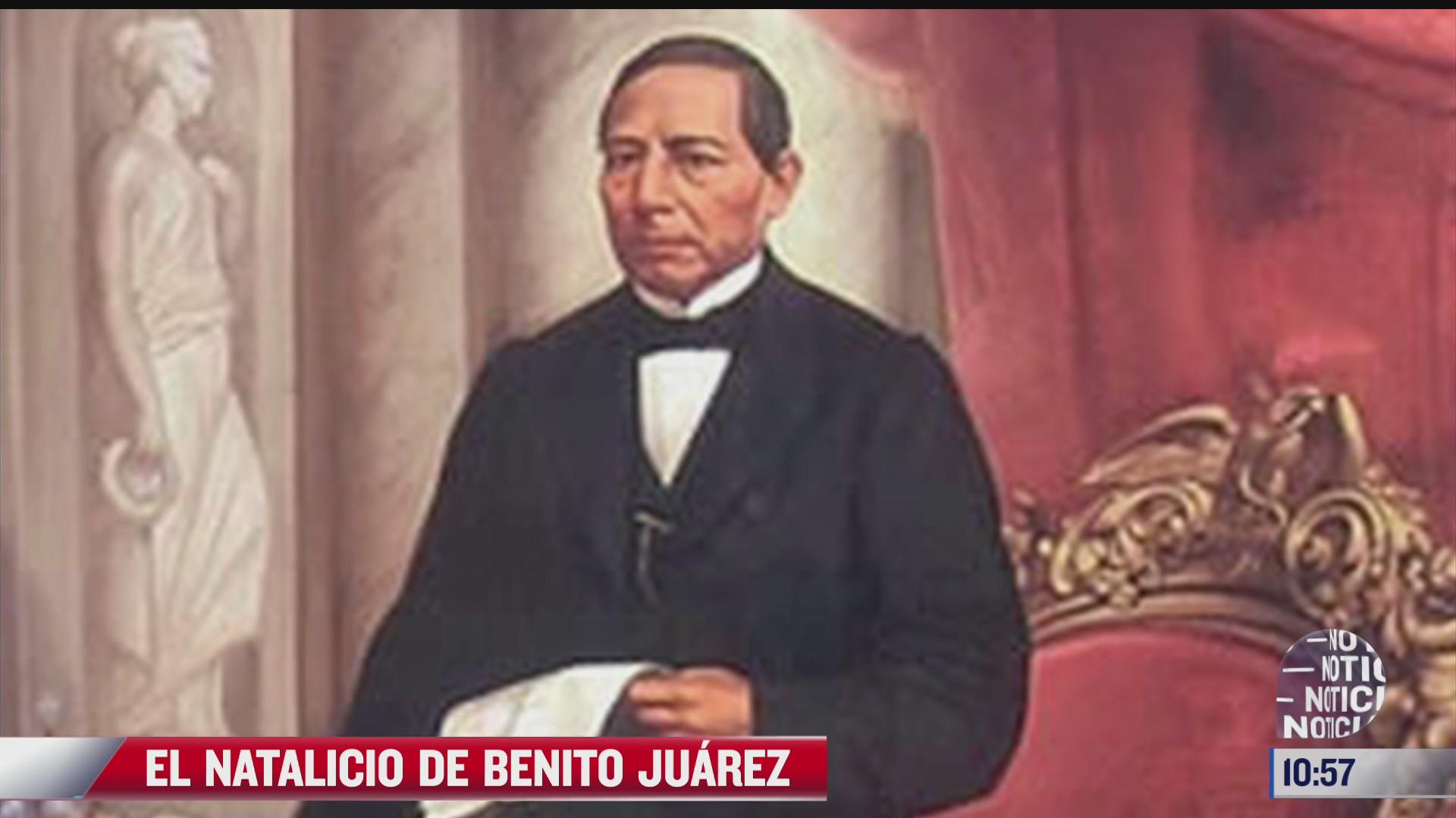 215 aniversario del natalicio de benito juarez