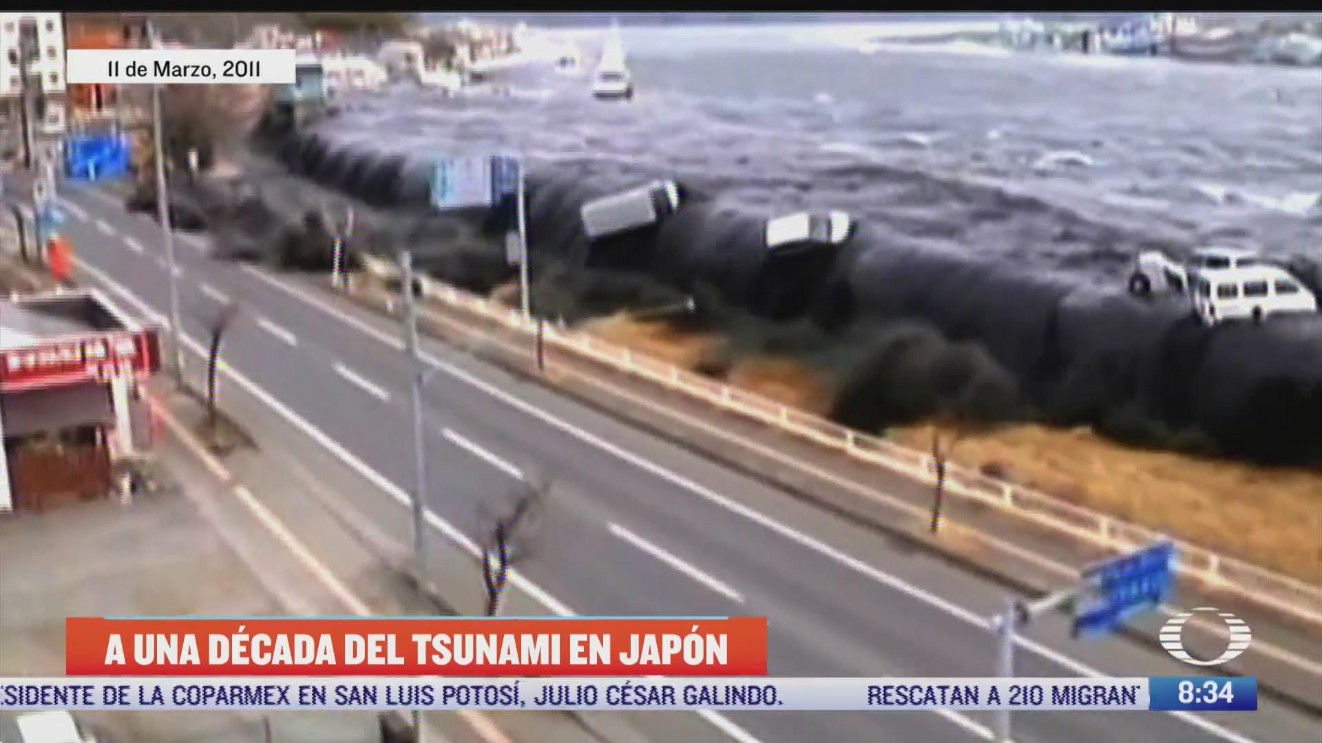 a 10 anos del terremoto y tsunami de japon