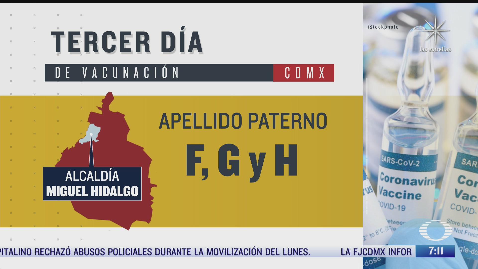a que adultos mayores les toca vacunarse este miercoles 10 de marzo de 2021 en la ciudad de mexico