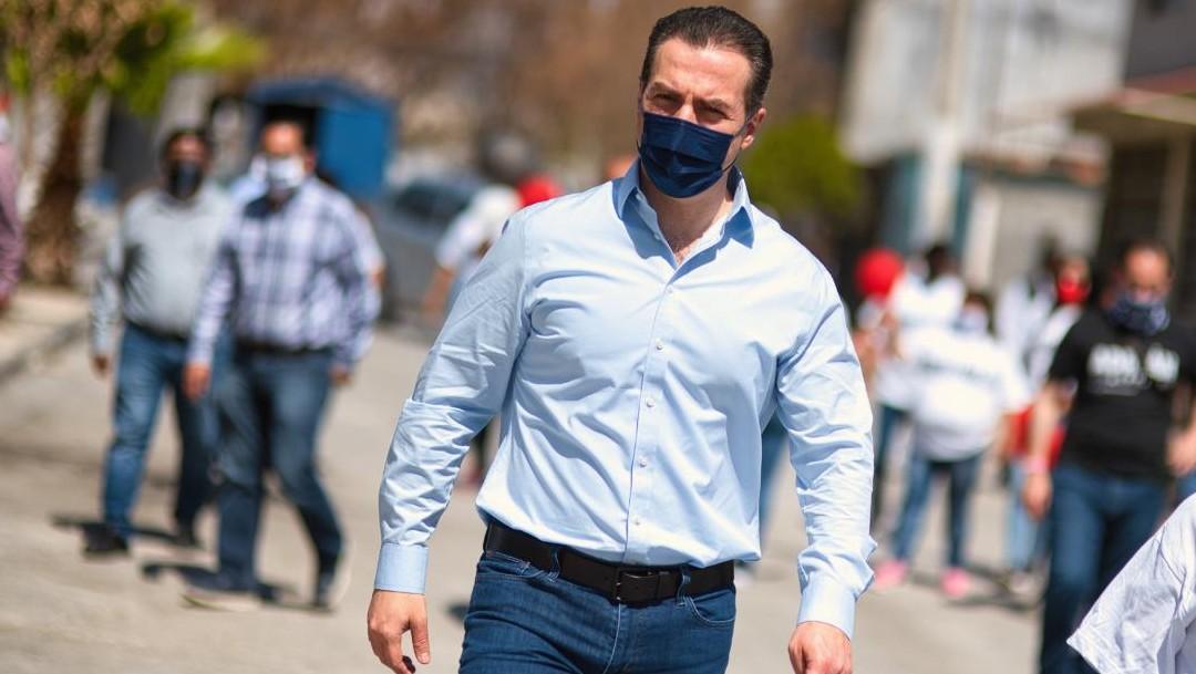 Adrián Emilio de la Garza Santos, candidato a la gubernatura de NL