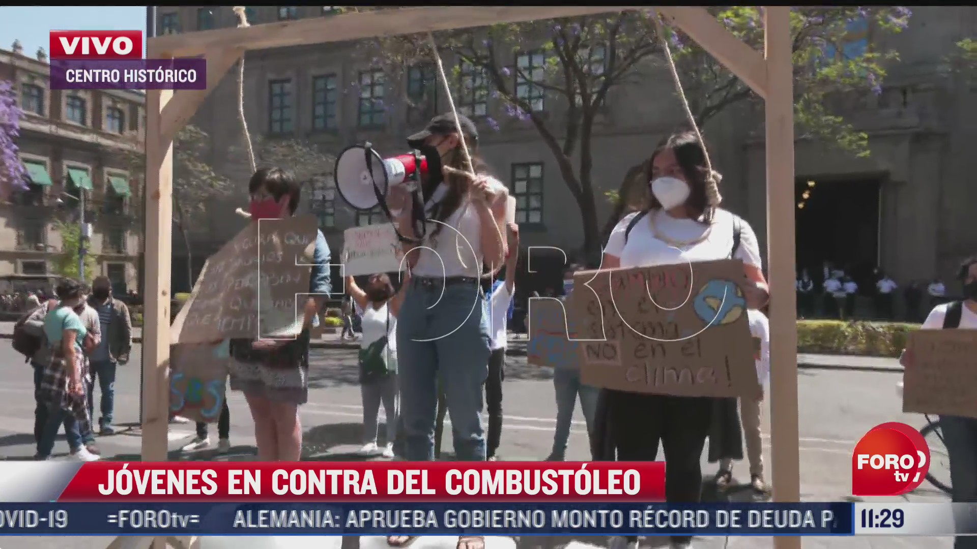 ambientalistas se manifiestan contra uso de combustoleo frente a scjn