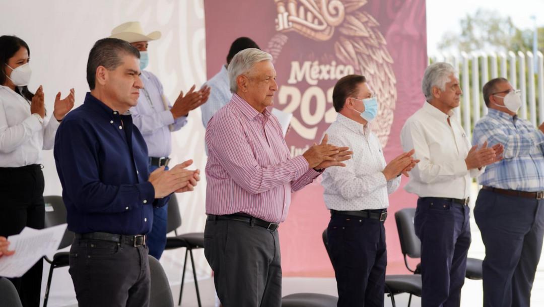 AMLO inaugura megaproyecto de agua potable para Coahuila y Durango