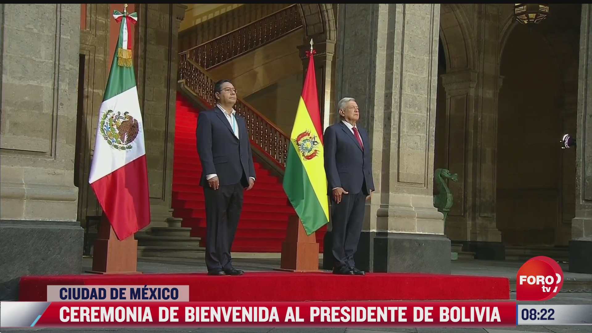 amlo da la bienvenida al presidente de bolivia luis arce