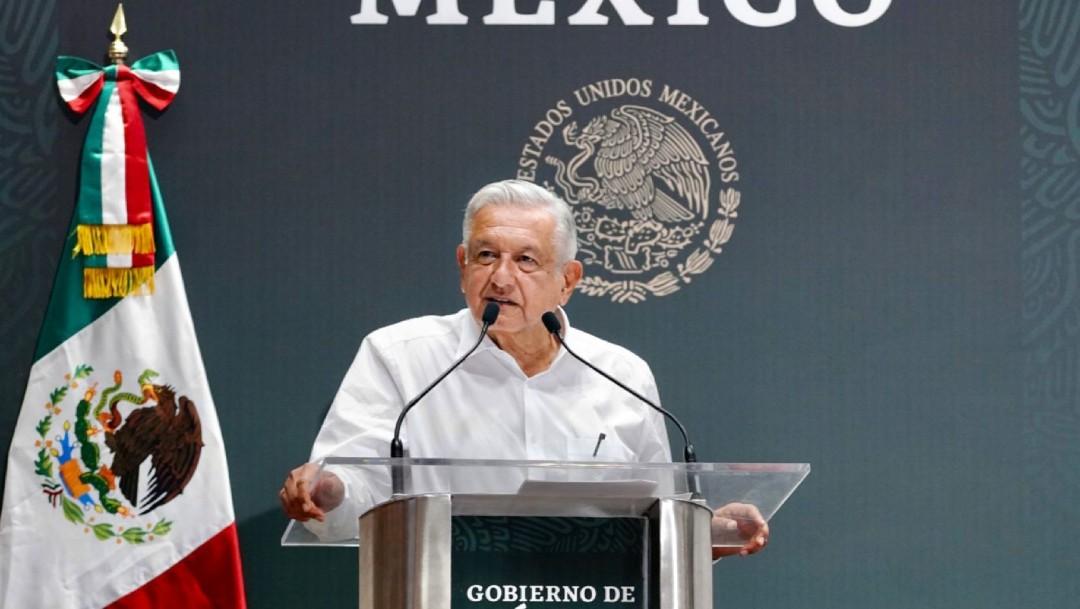 AMLO llama a Biden a acelerar entrega de apoyos a naciones centroamericanas