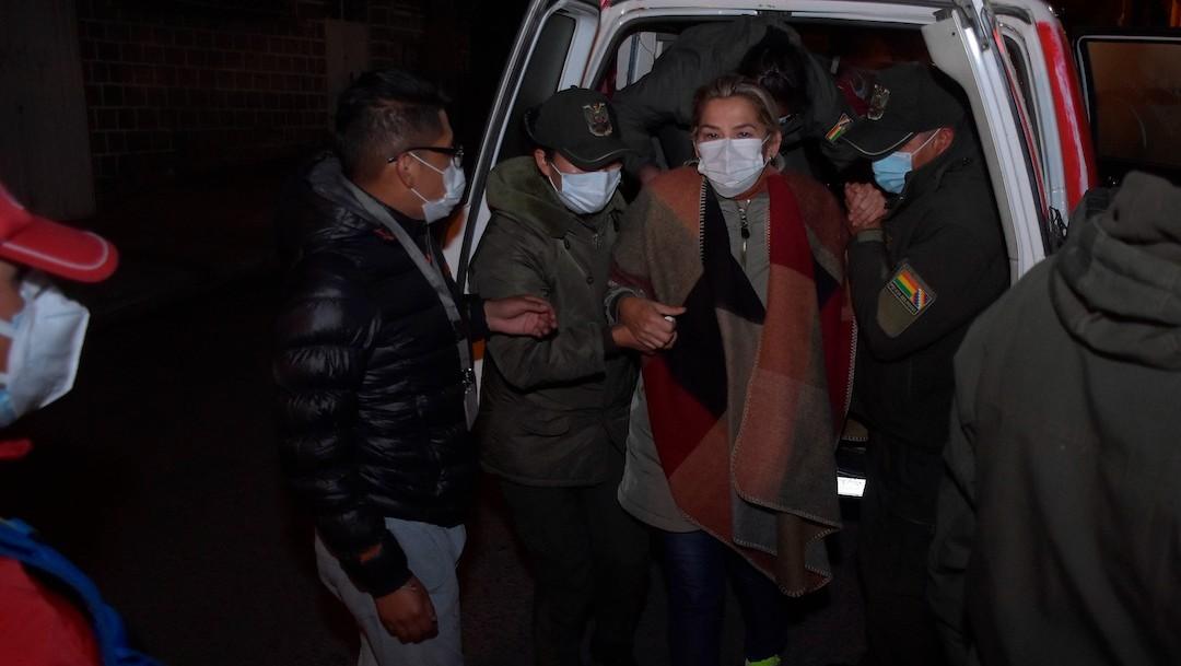 La expresidenta interina de Bolivia, Jeanine Áñez, es cambiada de cárcel (EFE)