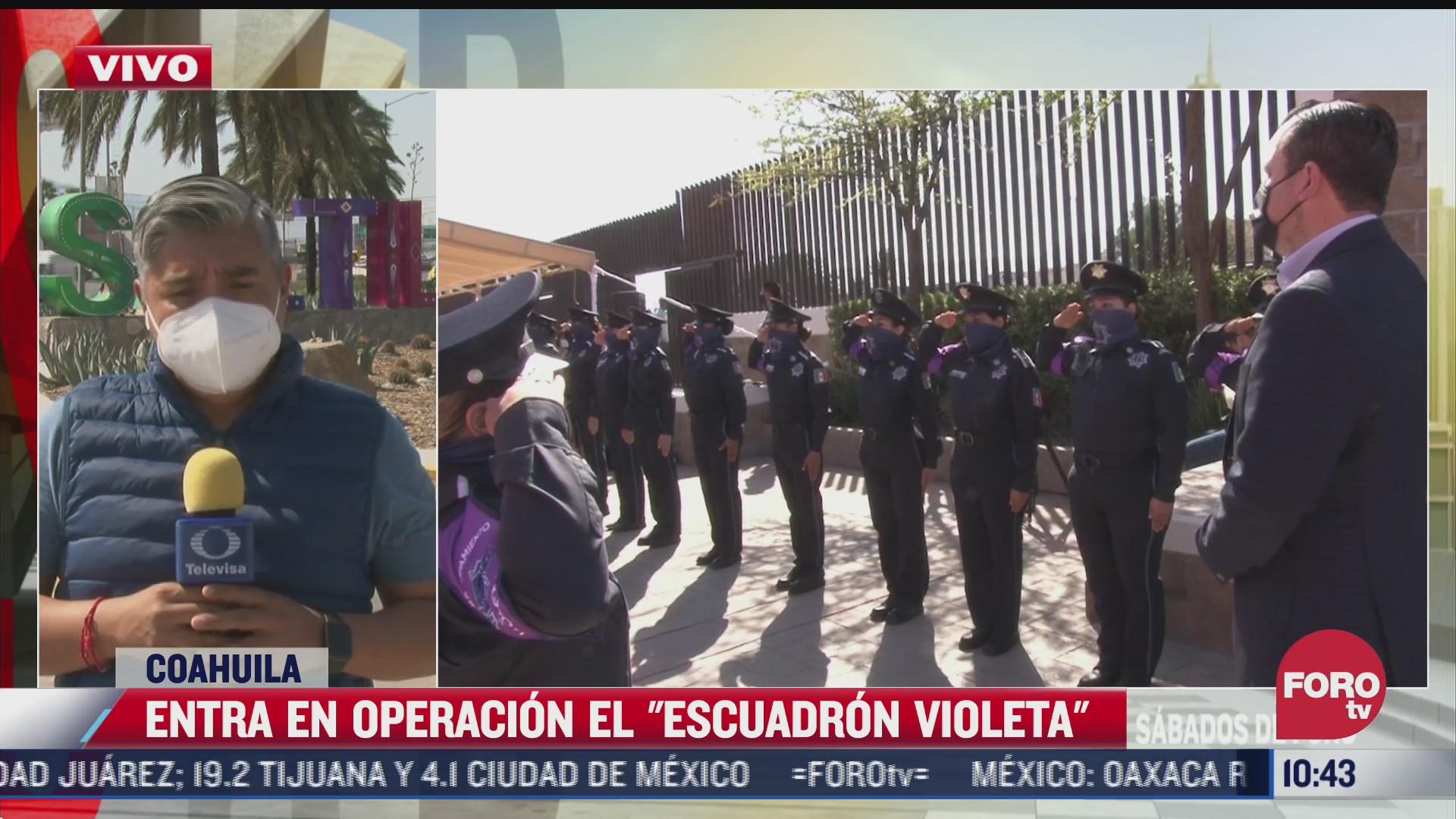 asi funciona el escuadron violeta para atender casos de violencia contra mujeres en coahuila