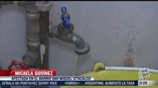 asi se vive la reduccion de suministro de agua en la cdmx y estado de mexico
