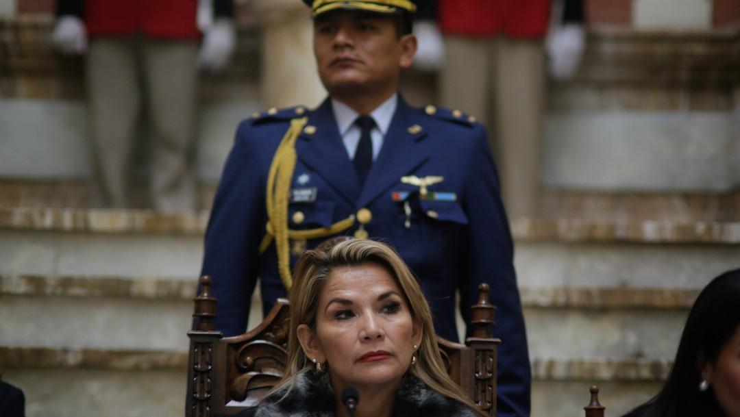 Jeanine Añez, expresidenta interina de Bolivia (Getty Images)