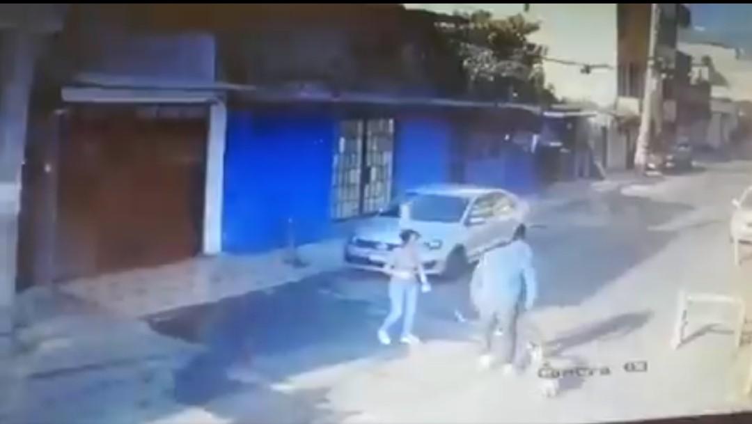 Cámara de seguridad capta intento de asalto en Tlalpan