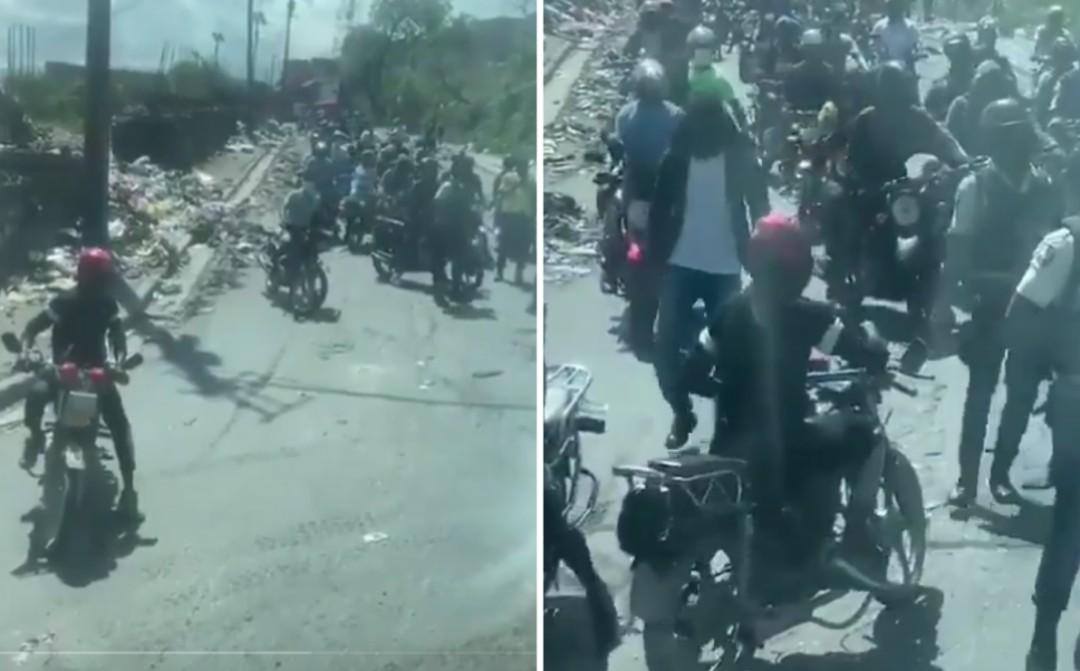 Comando intercepta aselección de futbol de Belice en Haití