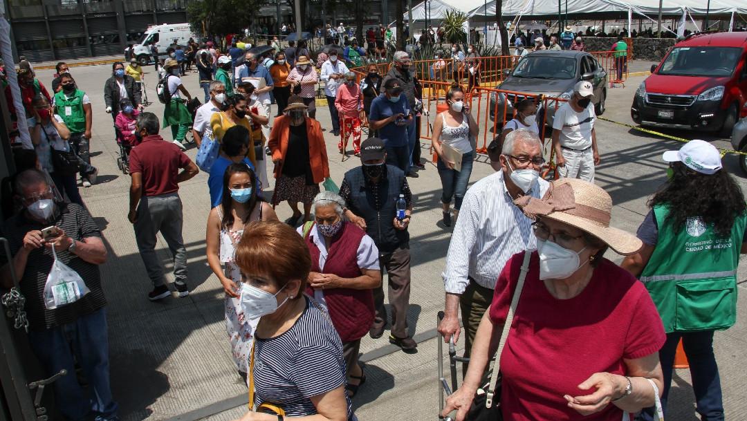 Los casos de COVID-19 en México el sábado 27 de marzo 2021