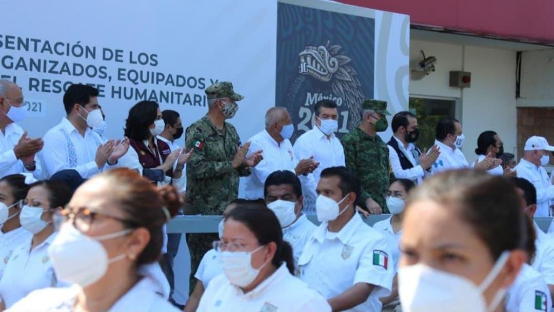 Chiapas despliega agrupamientos para rescate humanitario