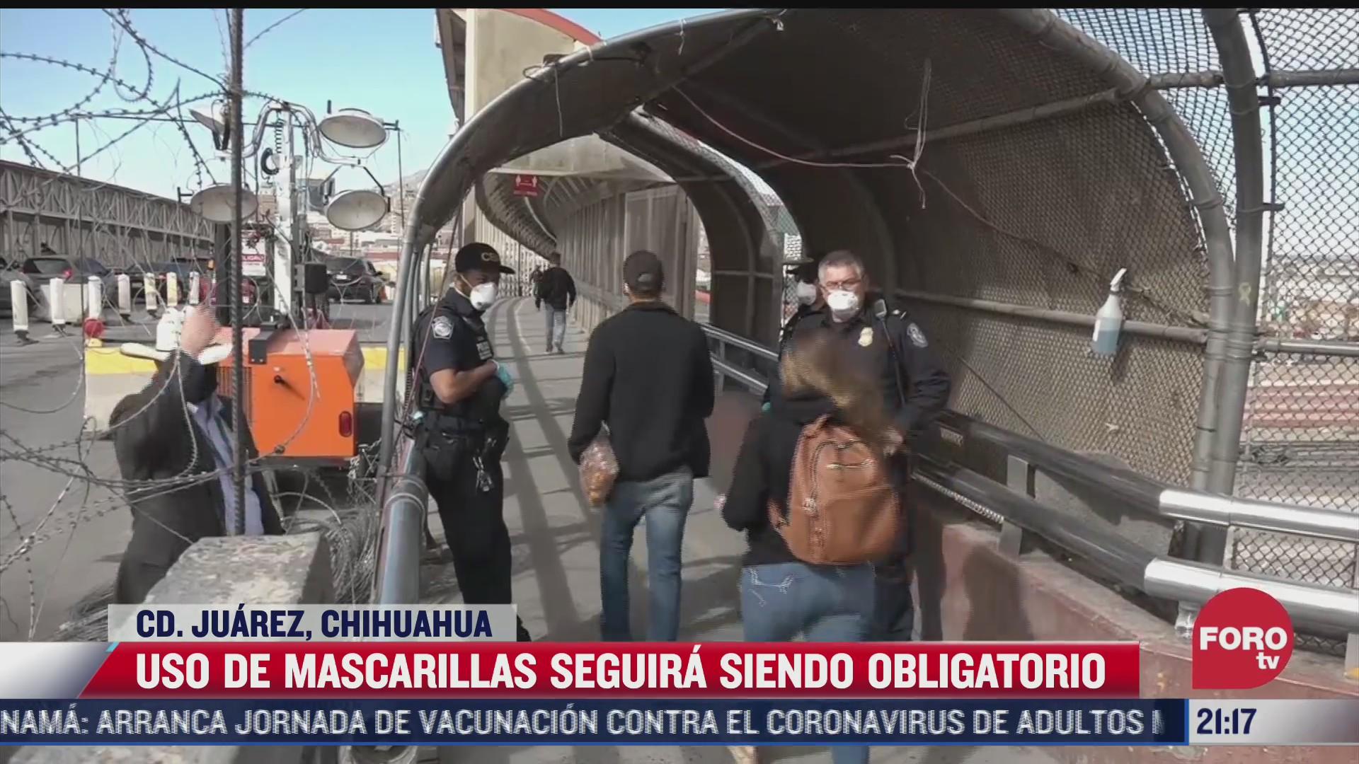 chihuahua continuara exigiendo uso de cubrebocas