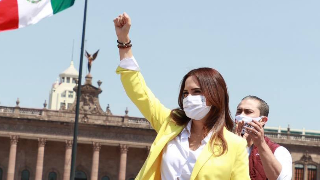 Clara Luz Flores presenta equipo de trabajo para Nuevo León
