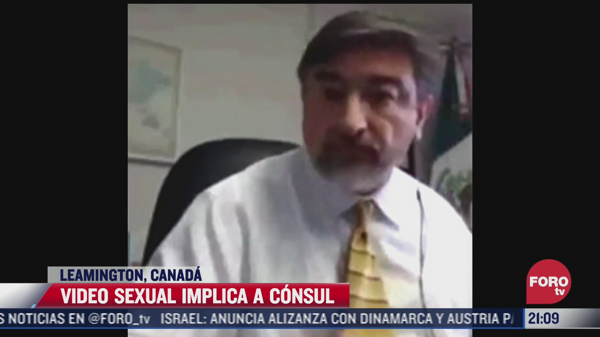 consul alberto bernal acero involucrado en video de contenido sexual